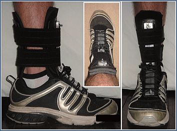 ankle immobilization brace